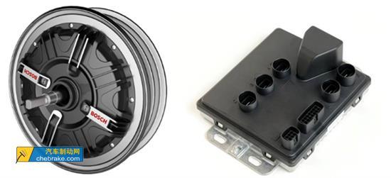图右:电动自行车控制器
