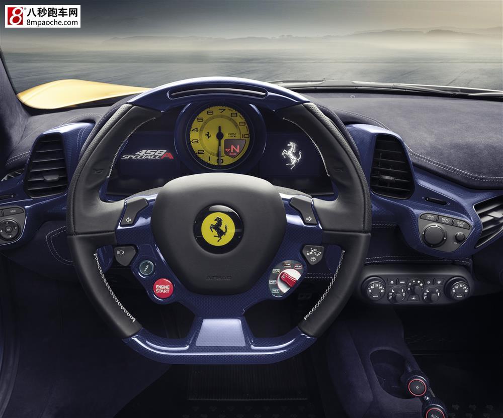 法拉利发布限量版458 speciale a敞篷跑车 高清图片