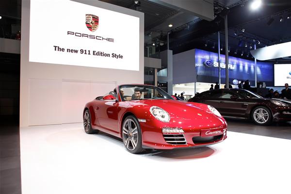 保时捷911 edition style限量版中国首发