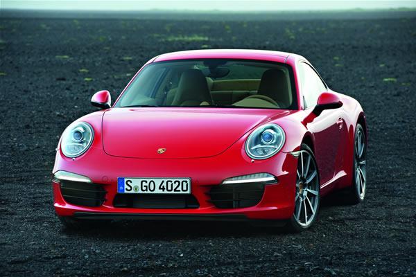 新款保时捷911 carrera法兰克福车展全球首发-跑车-八